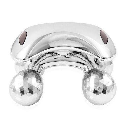 TJC Launch-Silver Colour 360 Degree Body Massager (Size 12X9X8 Cm)