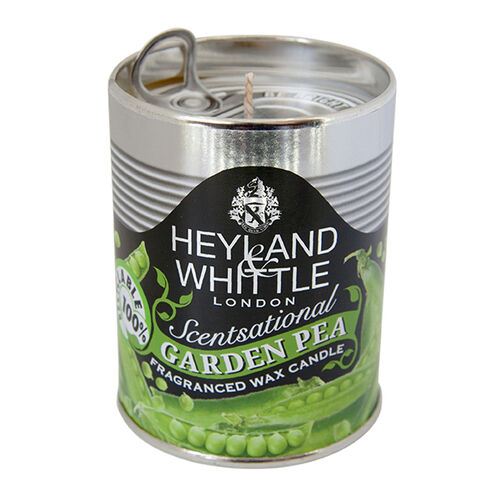 Heymand and Whittle 459 Kitchen and Garden Candle Garden Pea 250g Tin