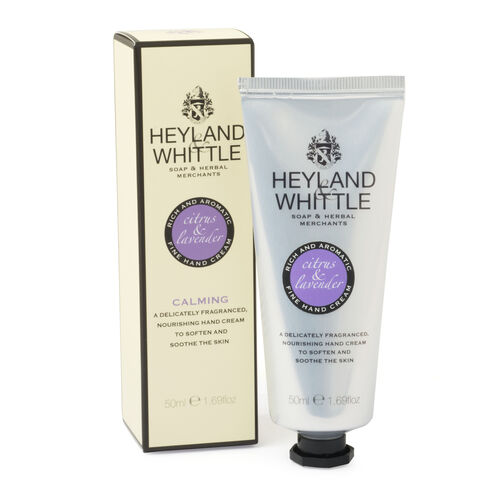 Heyland and Whittle Luxury Handmade Creams Citrus and Lavender (50 ml)