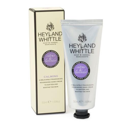 Heyland & Whittle: Luxury Handmade Creams Citrus & Lavender - 50ml