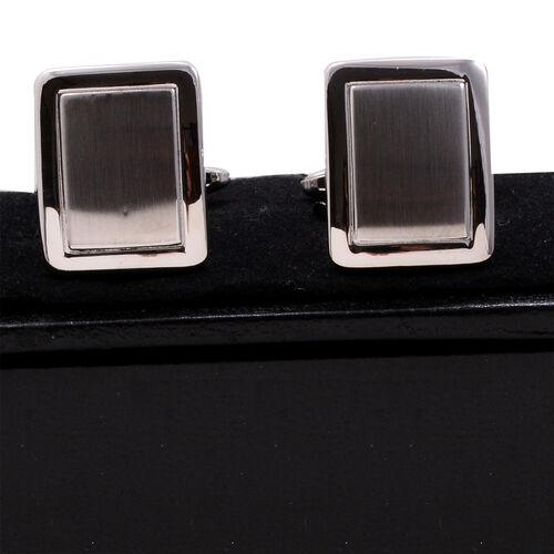 (Option 3) Close Out Deal Cufflink in Stainless Steel