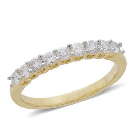 Exclusive Edition- ILIANA 18K Yellow Gold SGL Certified Diamond (Rnd) (SI/G-H) Ring 0.500 Ct.