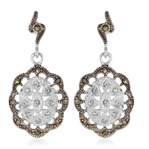 Sterling Silver Earrings, Silver wt 5.00 Gms.