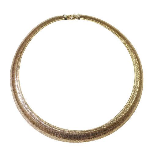 JCK Vegas Show Stopper 9K Y Gold Mesh Necklace (Size 18), Gold wt 11.74 Gms.