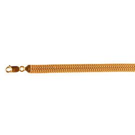 Limited Available- 9K Y Gold Bismark Bracelet (Size 8), Gold wt 6.58 Gms.