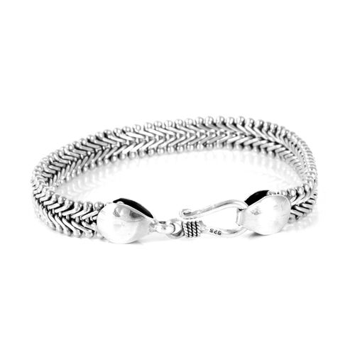 Royal Bali Collection Sterling Silver Bracelet (Size 7.5), Silver wt. 21.37 Gms.