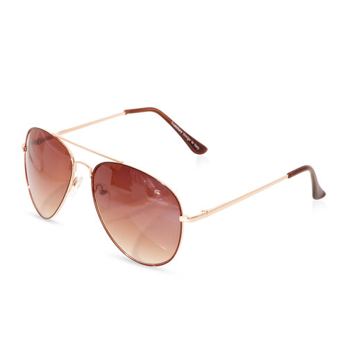 Aviator Sunglasses- Chocolate