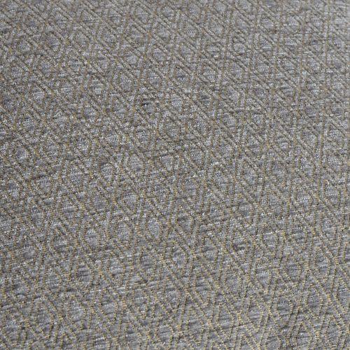 Diamond Pattern Grey Colour Cushion (Size 43x43 Cm)