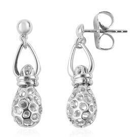 RACHEL GALLEY Rhodium Plated Sterling Silver Mystic Earrings (with Push Back)
