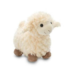 Easter Special-Cream Colour Standing Sheep (Size 20 Cm)