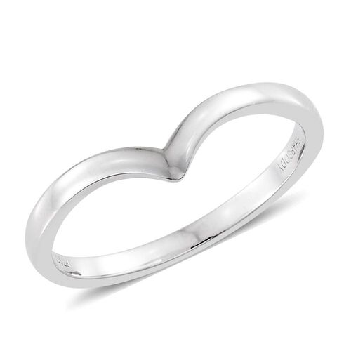RHAPSODY 950 Platinum Wishbone Ring Platinum Weight 3.03 Gms