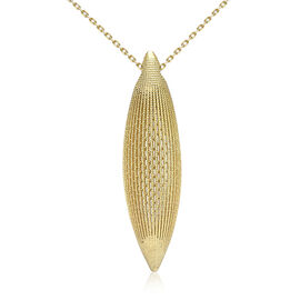 JCK Vegas Collection 9K Yellow Gold Necklace (Size 28), Gold wt. 6.40 Gms.