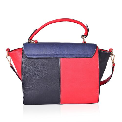 Close Out Deal Designer Inspired Top Handle Tote Handbag with Removable Should Strap (Size 27X22.5X12.5 Cm)