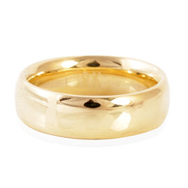 Limited Edition - Hand Polished Royal Bali Collection 9K Y Gold Heavy Band Ring.