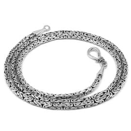 Royal Bali Collection Sterling Silver Borobudur Necklace (Size 20), Silver wt 22.19 Gms.