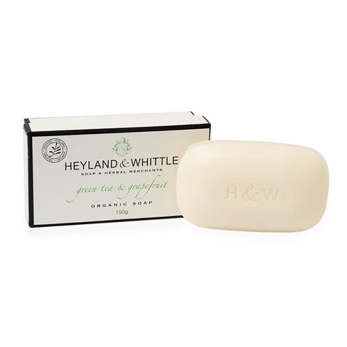 HEYLAND AND WHITTLE- Greentea and Grapefruit Diffuser, Candle and Organic Soap