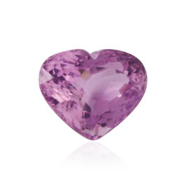 Kunzite (Heart 17.5 Faceted 4A) 18.750 Cts