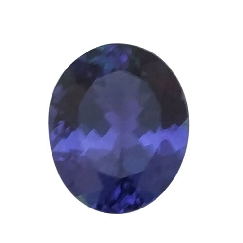 IGI Certified Tanzanite Faceted (Oval 10.9x9.03 3A) 4.000 Cts (GT12934702)