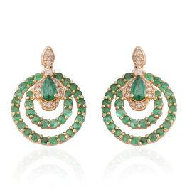 Diamond (0.21 Ct) 14K Y Gold Earring  1.730  Ct.