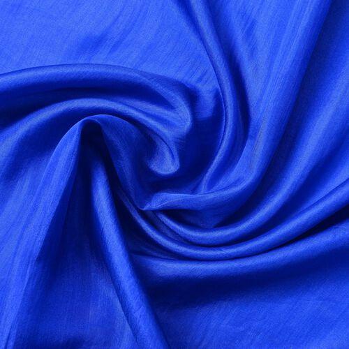 100% Mulberry Silk Pantone Colour Lapis Blue Scarf (Size 180X100 Cm)