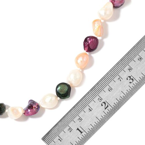 Fresh Water Multi Colour Pearl Necklace (Size 46)