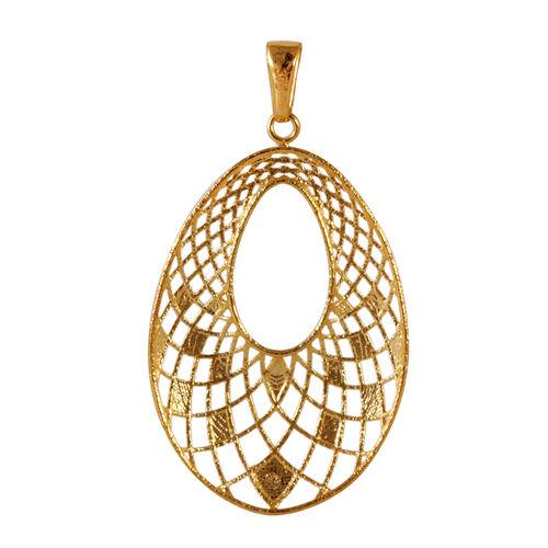 JCK Vegas Collection 9K Y Gold Drop Pendant