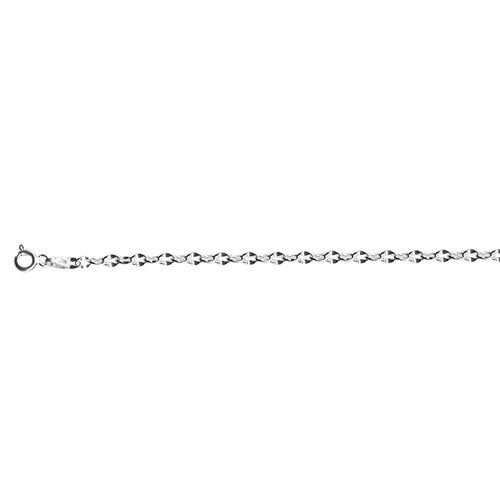 JCK Vegas Collection Sterling Silver Chain (Size 20), Silver wt 4.44 Gms.
