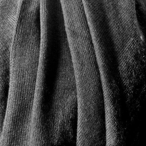 100% Pashmina Wool Black Colour Poncho (Free Size)