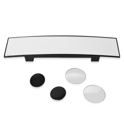 TJC Special  - Wide Angle Panoramic Rear View Mirror and Blind Spot Eliminator Mirror Set.