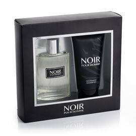 Noir Pour Homme 100ml EDT 150ml Shower Gel- Estimated delivery  within 3-5 working days