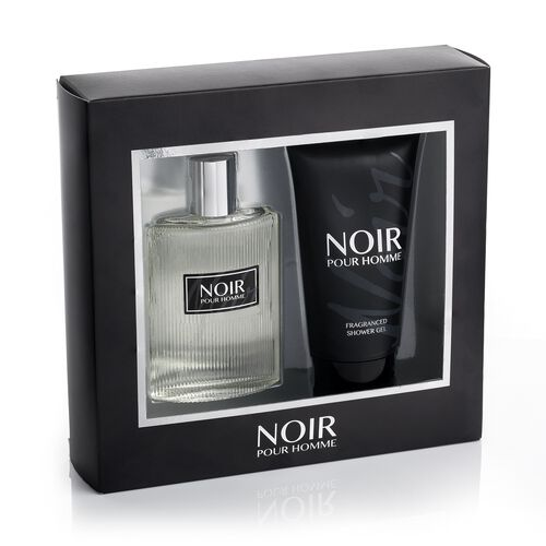 Noir Pour Homme 100ml EDT 150ml Shower Gel- Estimated delivery  within 5-7 working days