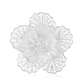 Royal Bali Collection Sterling Silver Floral Ring, Silver wt 5.43 Gms.