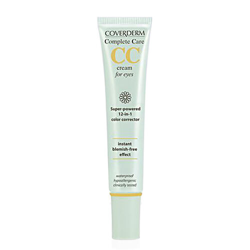 Coverderm Complete Care CC Cream For Eyes Light Beige 15ml