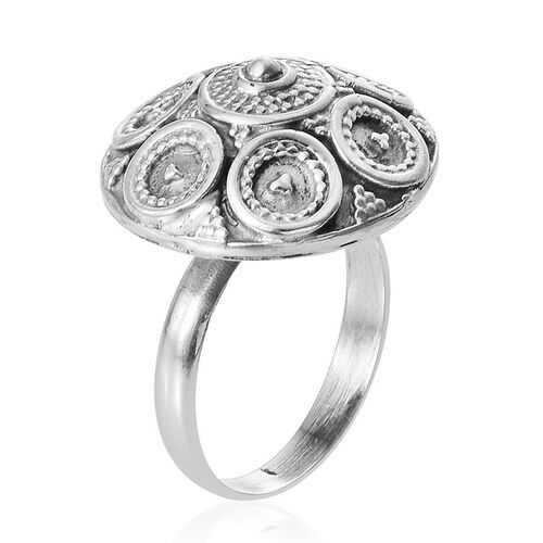 Tribal Collection of India Sterling Silver Ring, Silver wt 5.99 Gms.