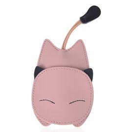 Lifestyle Day Mega Deal - Pink Colour Cat Design Key Holder (Size 14X7.7 Cm)