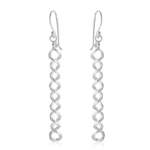 Thai Sterling Silver Earrings, Silver wt 3.20 Gms.