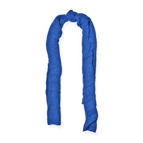 Blue and Grey Colour Scarf (Size 200x70 Cm)