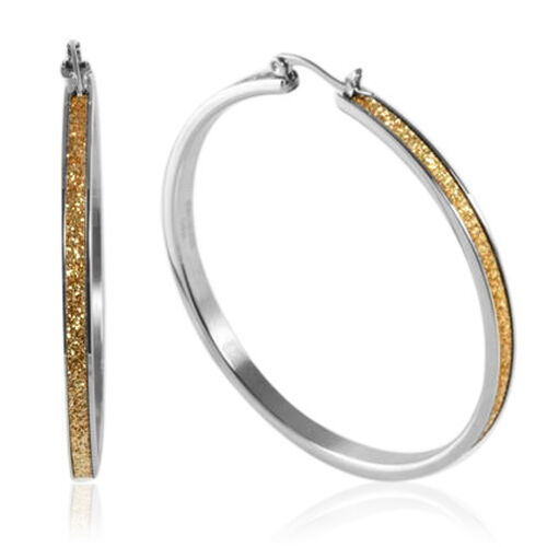 Champagne Stardust Earring in Stainless Steel