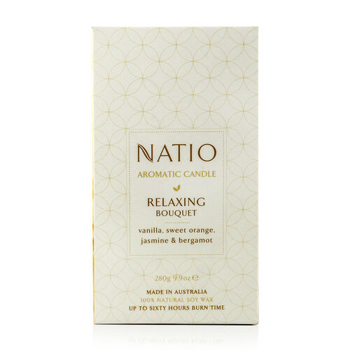 Natio Relaxing Aromatic Soy Candle 280g