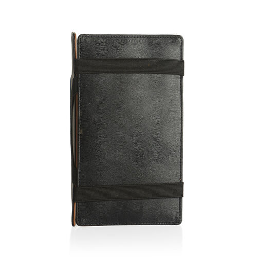 100% Genuine Leather RFID Blocker Tan Colour Magical Wallet (Size 18x10 Cm) and Card Holder