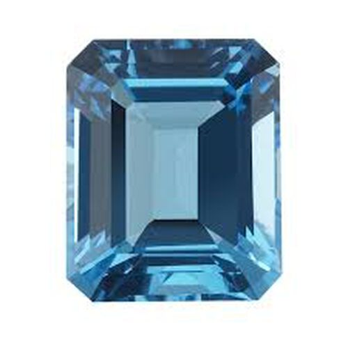 Electric Swiss Blue Topaz (Oct 20x15 mm Faceted 4A) 22.000 Ct.