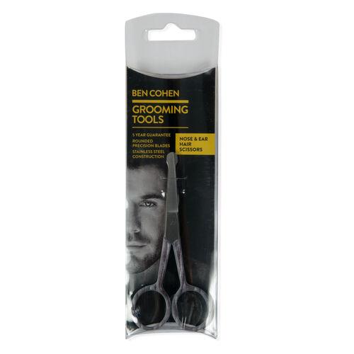 Ben Cohen Male Grooming Kit 1- Hand Nail Clipper, Moustache & Beard Scissors, Nose & Ear Hair Scissors, Moustache & Beard Comb