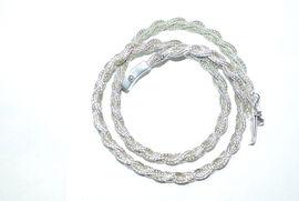 Royal Bali Collection Sterling Silver Tulang Naga Necklace (Size 20), Silver wt. 58.00 Gms.