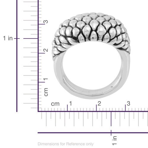Thai Sterling Silver Ring, Silver wt 8.67 Gms.