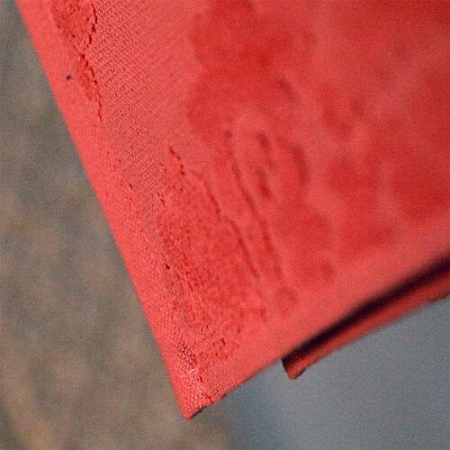 Luxury Edition - Set of 2 - 100% Cotton 500 GSM Velour Sculpted Towel in Mauveglow Colour (Hand 50x90 cm Bath 70x140 cm)