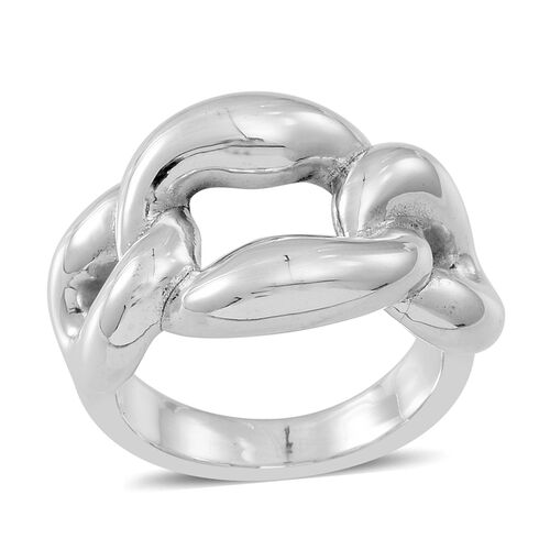 Statement Collection Sterling Silver Ring, Silver wt 6.01 Gms.