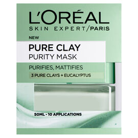 LOreal: Pure Clay Purity Mask - 50ml