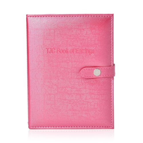 TJC Book of Earrings in Pink Colour (Size 19X14.7X5 Cm)