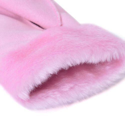 Pink Colour Winter Gloves (Size 25x10 Cm)