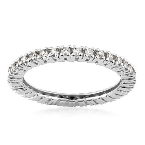 ILIANA 18K W Gold Diamond (Rnd) Ring  0.720 Ct.